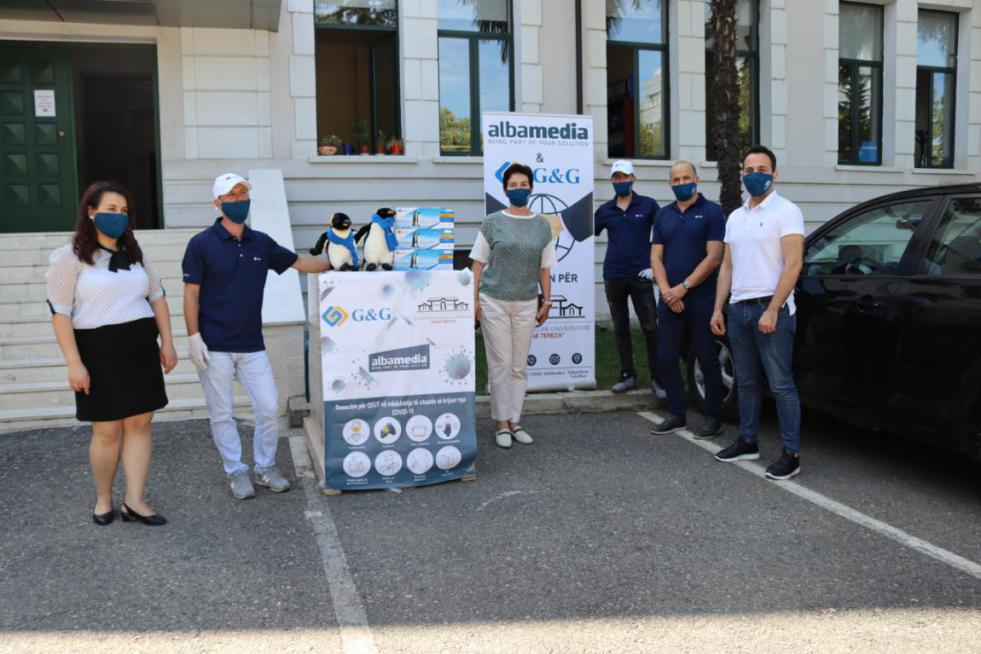 G&G Donates Printing Supplies to Albania Hospital to Help Fight COVID-19